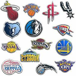 New NBA Pick Your Team Color Aluminum 3D Car Truck Auto Embl