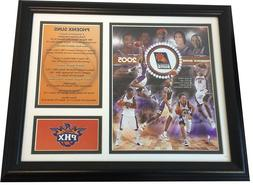 Phoenix Suns - 2005 Pacific Division Champions 16x13 Framed