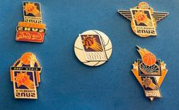PHOENIX SUNS 5 PIN SET.HTF.NO OFFERS ACCEPTED.SHIP USA ONLY.