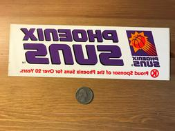 Phoenix Suns bumper sticker from 1990s