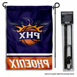 Phoenix Suns Garden Flag and Yard Stand Included