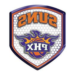 Phoenix Suns High Intensity SHIELD Reflector Emblem Decal Au