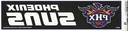 PHOENIX SUNS NBA LICENSED BUMPER STICKER NEW