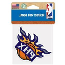 "Phoenix Suns Perfect Cut 4""x4"" Color Decal  NBA Auto Sticker"
