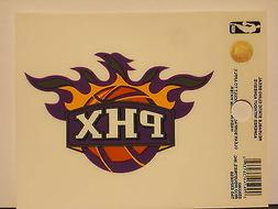Phoenix Suns Small Window Static Cling Decal NBA Free Shippi