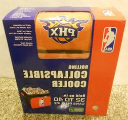 Rolling Collapsible COOLER NBA PHOENIX SUNS holds 32 to 40 c